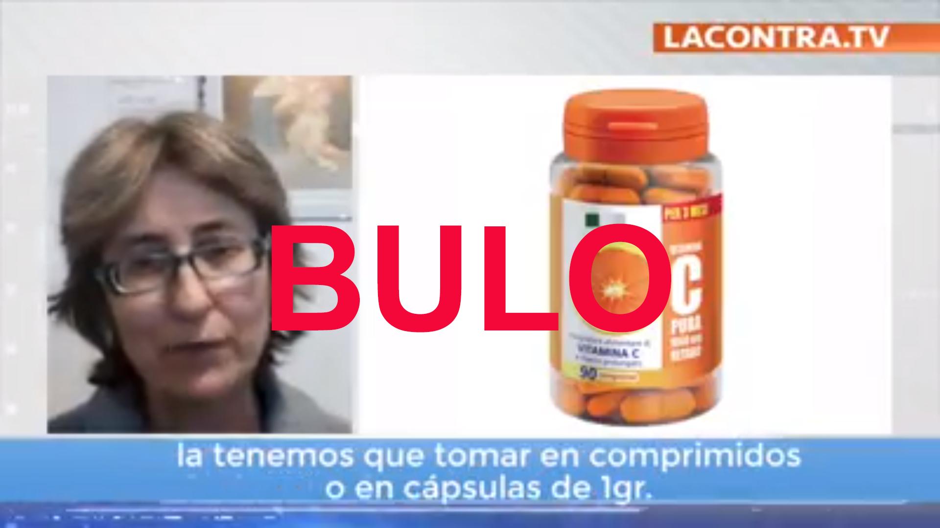 Bulo de la vitamina C en Covid19