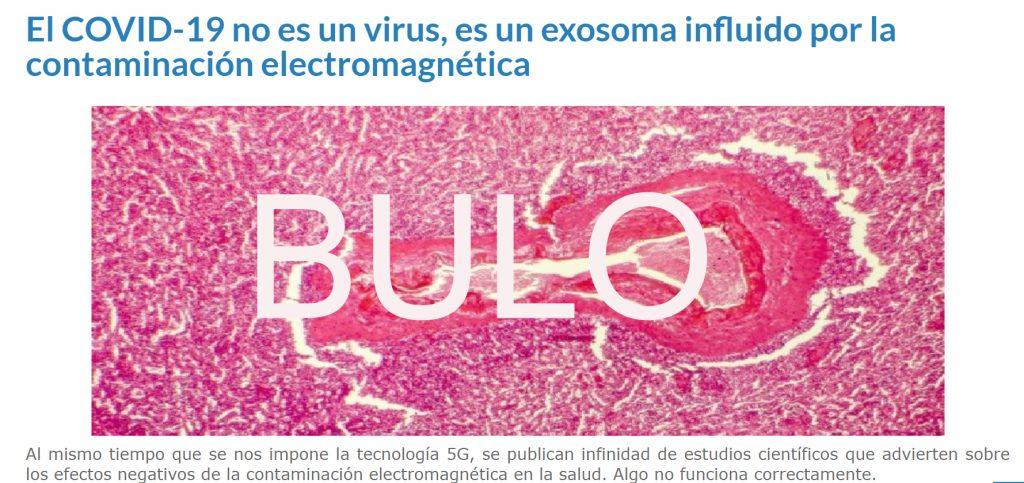 El bulo del 5G en el coronavirus