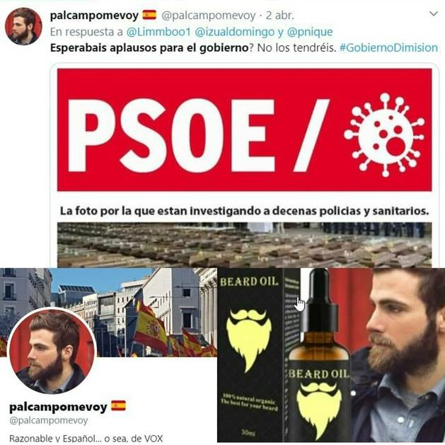 bulo cadáveres Covid19 y PSOE